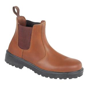 161 Brown S3 Dealer boot